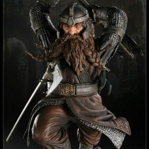 GIMLI Statue - Le seigneur des anneaux - SIDESHOW COLLECTIBLES