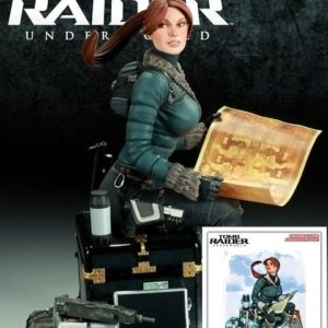 TOMB RAIDER STATUE Lara Croft SNOW DAY Exclusive Version - SIDESHOW COLLECTIBLES
