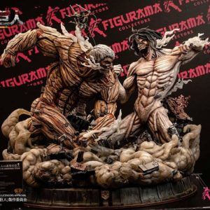 L'attaque des Titans - Elite Exclusive Eren vs Armored Titan - FIGURAMA COLLECTORS