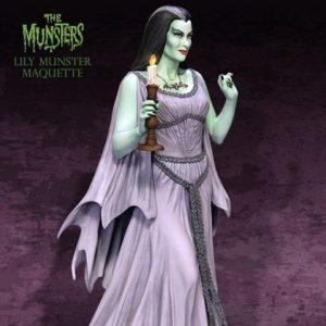 Lily Munster Maquette - TWEETERHEAD