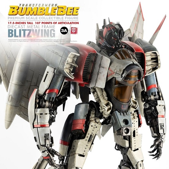 Bumblebee figurine Premium Scale Blitzwing 44 cm - Transformers - ThreeA Toys