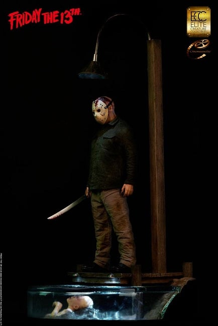Jason Voorhees 1:3 Scale Maquette - Vendredi 13 - ECC Elite Creature Collectibles