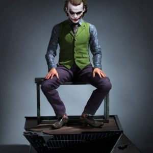 The Dark Knight statue 1/3 Heath Ledger Joker – QUEEN STUDIOS