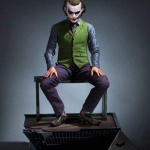 The Dark Knight statue 1/3 Heath Ledger Joker – QUEEN STUDIOS