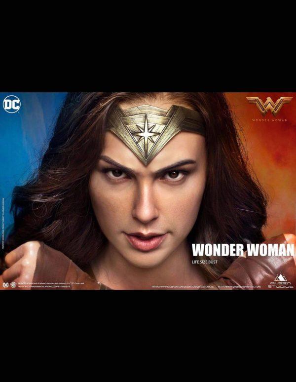 Wonder Woman 1:1 Lifesize Bust by Queen Studios – QUEEN STUDIOS