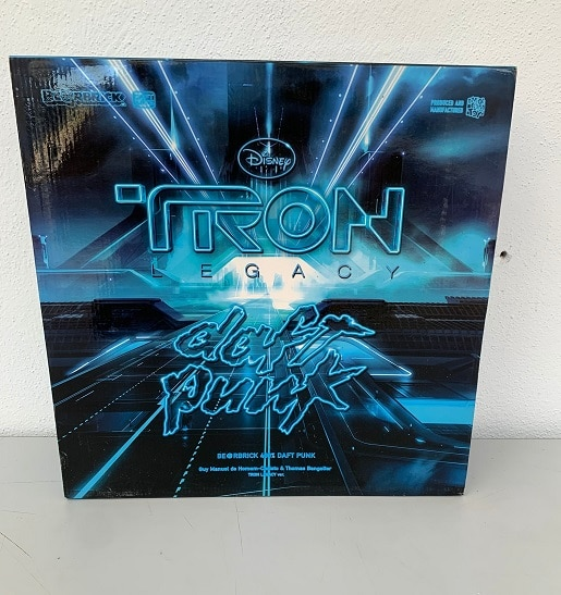 Disney TRON : Legacy Daft Punk be@rbrick's - 400% bearbrick - MEDICOM Toy