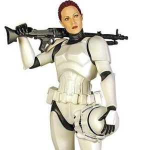 JES GISTANG FEMALE STORMTROOPER STATUE - STAR WARS - GENTLE GIANT