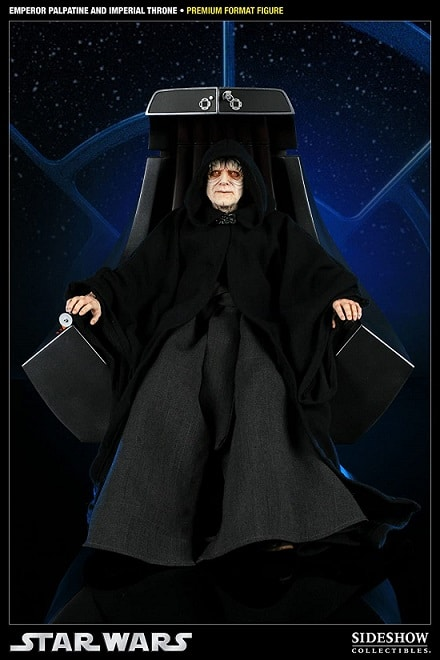 EMPEROR PALPATINE AND IMPERIAL THRONE Premium Format Figure - STAR WARS - Sideshow Collectibles