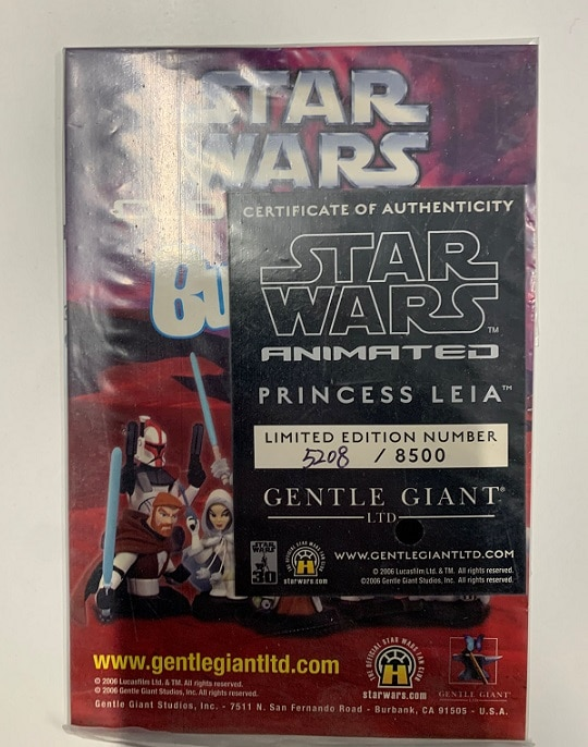 PRINCESS LEIA ANIMATED MAQUETTE - STAR WARS - GENTLE GIANT