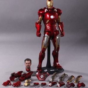 THE AVENGERS IRON MAN MARK VII 1/6TH MMS185 - HOT TOYS