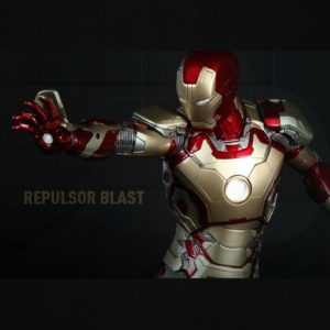 IRON MAN 3 POWER POSE MARK XLII 1/6TH PPS001 - HOT TOYS