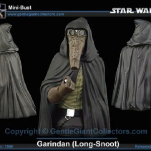 GARINDAN LONG SNOOT mini bust - STAR WARS - GENTLE GIANT