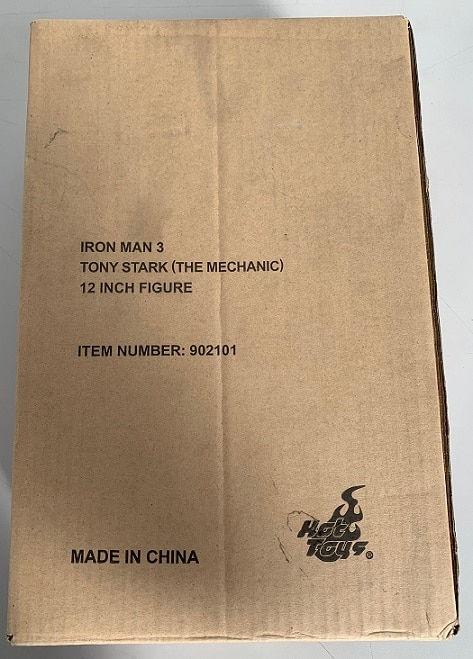 IRON MAN 3 TONY STARK (THE MECHANIC) 1/6TH MMS209 - HOT TOYS