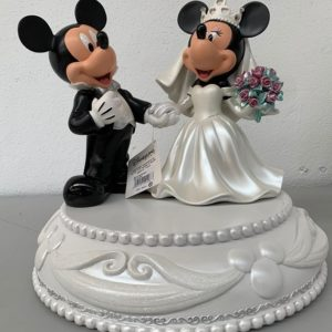 MICKEY AND MINNIE MOUSE WEDDING BIG FIG Medium Statue - DISNEY