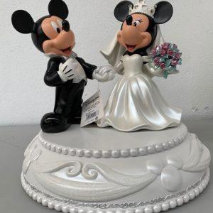 MICKEY AND MINNIE MOUSE WEDDING BIG FIG Medium Statue - DISNEY