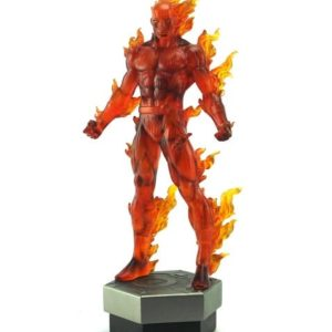 Johnny Storm Human Torch Painted Statue - MARVEL - BOWEN DESIGNS