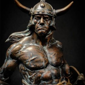 Conan the Brutal Faux Bronze - Quarantine Studio