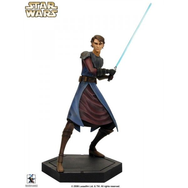 ANAKIN SKYWALKER Animated Maquette - STAR WARS The Clone Wars - GENTLE GIANT
