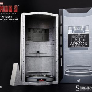 IRON MAN 3 Hall of Armor (House Party Protocol Version) - HOT TOYS