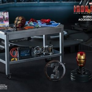 Iron Man 3 Workshop Accessories Collectible Set 1/6TH - HOT TOYS