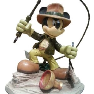 MICKEY MOUSE INDIANA JONES BIG FIG Medium Statue - DISNEY