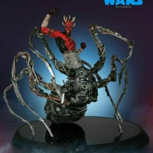 DARTH MAUL WITH MECHA LEGS SPIDER - STAR WARS - GENTLE GIANT