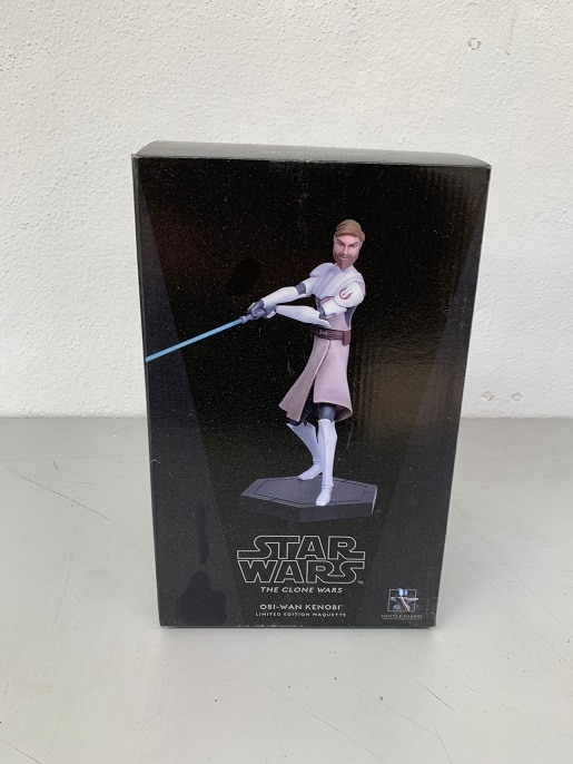 Obi-Wan Kenobi Animated Maquette - STAR WARS The Clone Wars - GENTLE GIANT