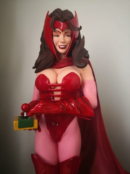 Scarlet Witch Comiquette Marvel - Sideshow Collectibles