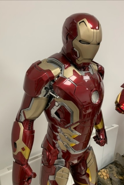 Iron Man Mark 43 Legendary Scale Figure LSF 1/2 - Avengers: Age of Ultron - SIDESHOW COLLECTIBLES