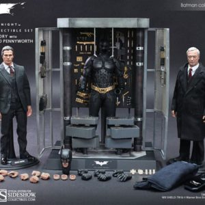 Batman Armory with Bruce Wayne and Alfred 1/6TH MMS236 - HOT TOYS
