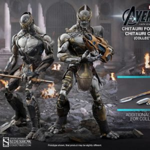 Chitauri Commander and Footsoldier Set 1/6TH MMS228 - AVENGERS - HOT TOYS