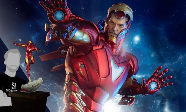 Iron Man Extremis Mark II Statue - Sideshow Collectibles