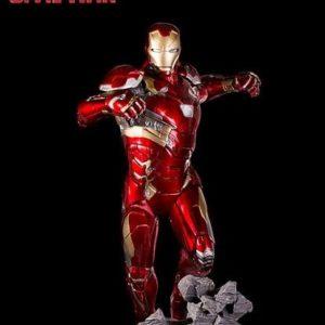 Iron Man Mark XLVI Statue Legacy Replica - Captain America: Civil War - Iron Studios
