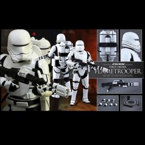 FIRST ORDER FLAMETROOPER 1/6TH SCALE FIGURE MMS326 - STAR WARS: THE FORCE AWAKENS - HOT TOYS
