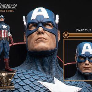 Captain America 1/3 - Prestige Series - Marvel - XM STUDIOS