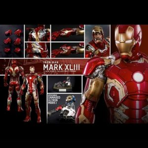 IRON MAN MARK XLIII 1/6TH SCALE FIGURE MMS278D09 - AVENGERS: AGE OF ULTRON - HOT TOYS