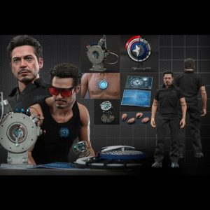 TONY STARK WITH ARC REACTOR CREATION ACCESSORIES IRON MAN 2 MMS273 - HOT TOYS