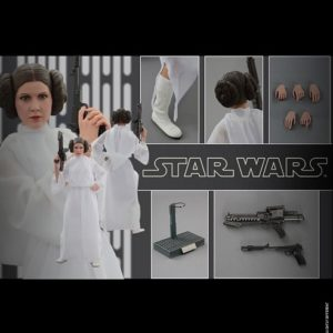 PRINCESS LEIA 1/6TH SCALE FIGURE MMS298 - STAR WARS: EPISODE IV A NEW HOPE - HOT TOYS