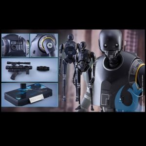K-2SO 1/6TH SCALE FIGURE MMS406 - ROGUE ONE: A STAR WARS STORY - HOT TOYS