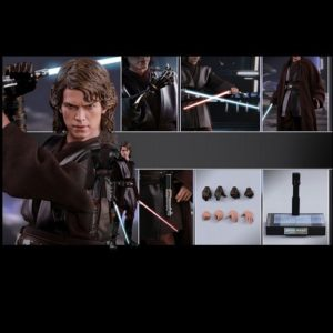 ANAKIN SKYWALKER 1/6TH SCALE FIGURE MMS437 - STAR WARS EPISODE III: REVENGE OF THE SITH - HOT TOYS