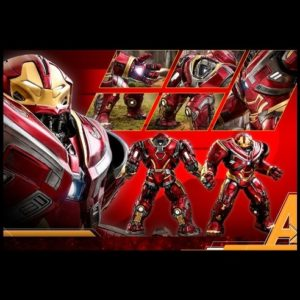 HULKBUSTER 1/6TH SCALE POWER POSE COLLECTIBLE FIGURE PPS005- AVENGERS: INFINITY WAR - HOT TOYS