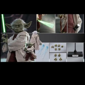 YODA 1/6TH SCALE FIGURE MMS495 - STAR WARS EPISODE II: ATTACK OF THE CLONES - HOT TOYS
