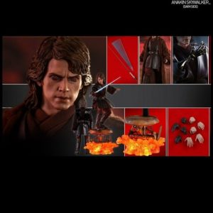 ANAKIN SKYWALKER (DARK SIDE) 1/6TH SCALE FIGURE MMS486 - STAR WARS EPISODE III: REVENGE OF THE SITH - HOT TOYS