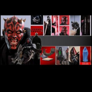 DARTH MAUL WITH SITH SPEEDER (SPECIAL VERSION) 1/6TH SCALE FIGURE DX17- STAR WARS EPISODE I: THE PHANTOM MENACE - HOT TOYS