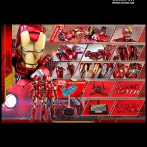 IRON MAN MARK VII (SPECIAL VERSION) 1/6TH SCALE FIGURE MMS 500 D27- AVENGERS - HOT TOYS