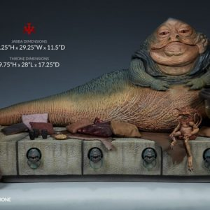 Jabba the Hutt and Throne Deluxe Sixth Scale Figure - Star Wars - Sideshow Collectibles