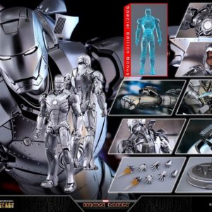IRON MAN MARK II (SPECIAL VERSION) 1/6TH SCALE FIGURE MMS 431 D20 - HOT TOYS