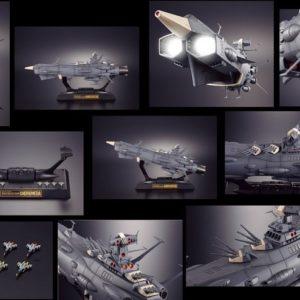 Soul Of Chogokin GX-58 Andromeda - Space Battleship Yamato - Bandai