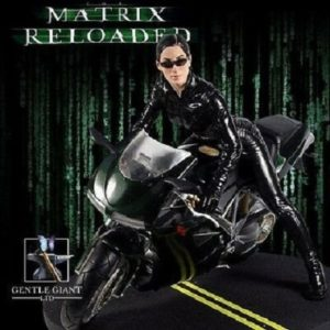 TRINITY ON BIKE STATUE 1/6 - MATRIX RELOADED - GENTLE GIANT