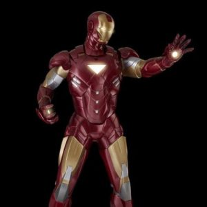 IRON MAN Life Size Statue - The Avengers - OXMOX MUCKLE